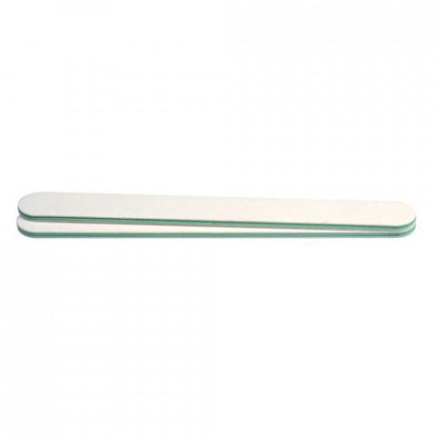 'Profi-Feile, weiß, Kern grün, mittel 180/180'