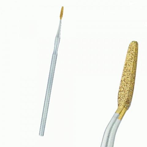 'SAPINA® Diamant-Eckenfeile 14 cm, gewinkelt'