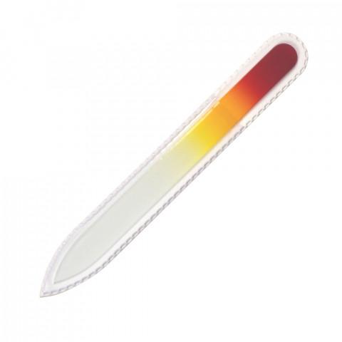 'Glasfeile rot/gelb, 135 mm'
