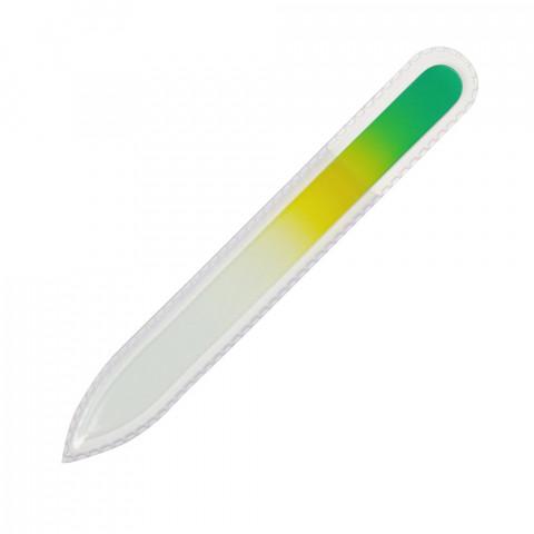'Glasfeile grün/gelb, 135 mm'