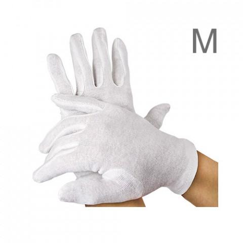 'Baumwoll-Handschuhpaar mittlere Größe'