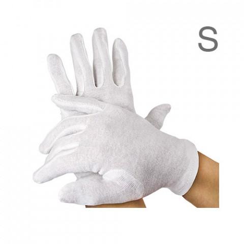'Baumwoll-Handschuhe, 12 Paar, S'