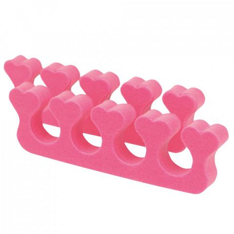'Zehenspreizer Herzen, pink (1 Paar)'