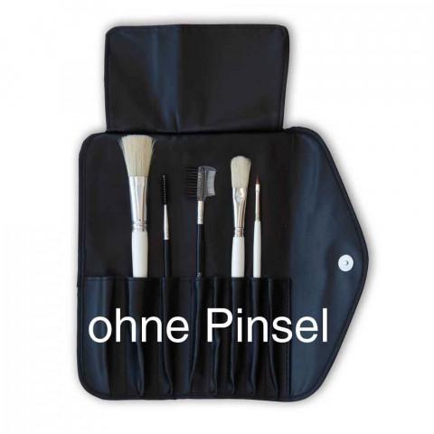 'Pinsel-Tasche 8 Einsteckfächer, schwarz'