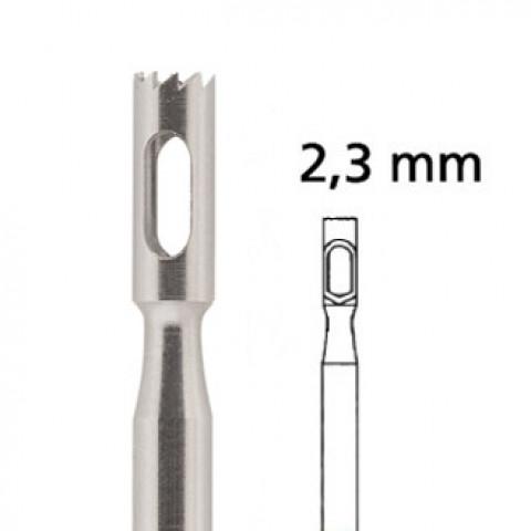 'Hohlfräser gezackt F224RF Ø 2,3 mm, rostfrei'