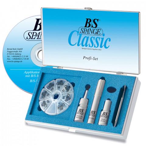 'B/S CLASSIC Profi-Set Magnet, 60 Spangen, DVD'