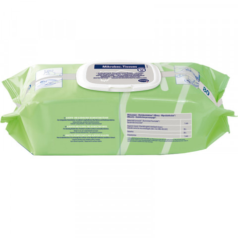 'Mikrobac Tissues, 80 Stück'