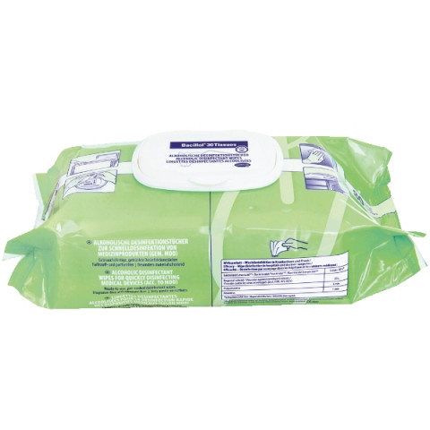 'Bacillol 30 Tissues Flächendesinfektion, 80 Tücher'