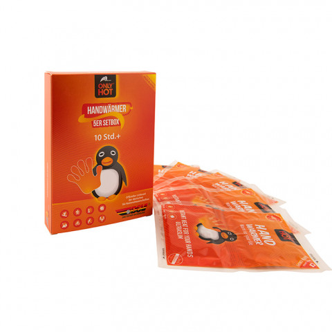 'ONLY HOT® - Handwärmer in Setbox, 5 Paar'