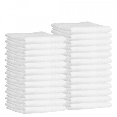 'Frottee-Kompressentuch 30x50 cm, weiß (25 Stück)'