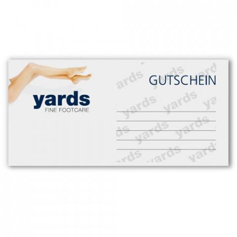 'yards - Gutschein'