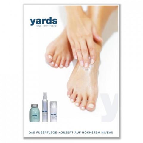 'yards - Poster (Fuß)'