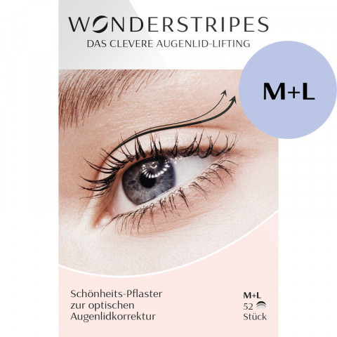 'Wonderstripes 52 Stück, Kombipackung M/L'