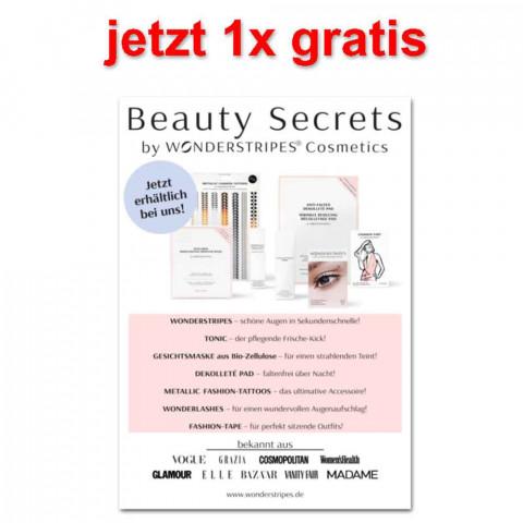 'Beauty Secrets Poster DIN A2'