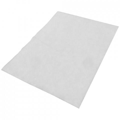 'Vliesmatte eckig, weiß 100 Stück (50x70 cm)'