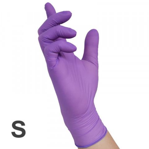 'Nitril VIOLET Handschuhe 100, Gr.S (6-7)'