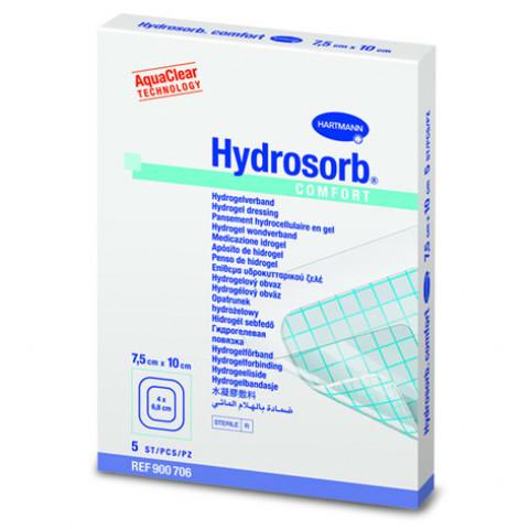 'Hydrosorb comfort 4,5 x 6,5 cm, 5 Stück'