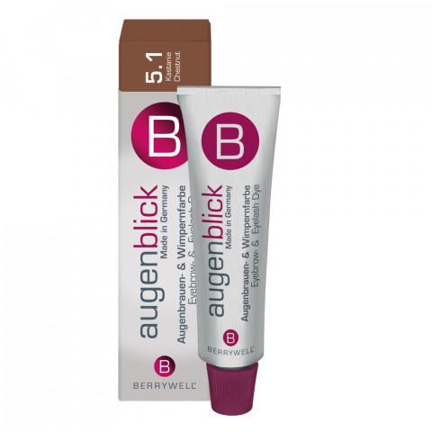 'Berrywell Wimpernfarbe 5.1, kastanie 15 ml'