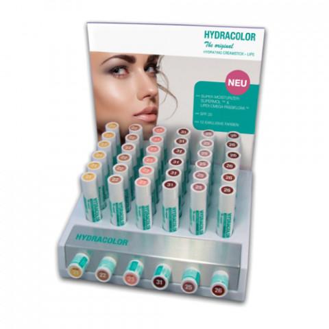 'Aufsteller für Hydracolor Lippenpflegestift'