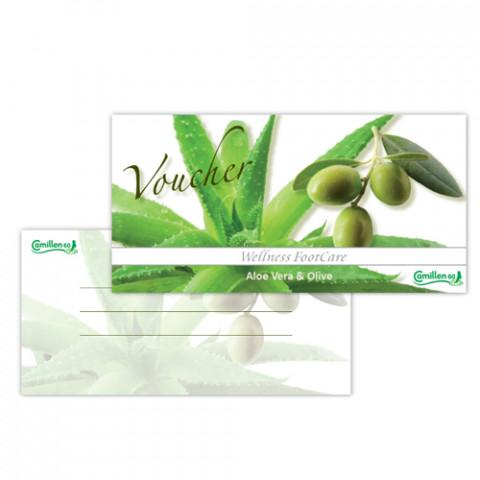 'Voucher Aloe & Olive English'