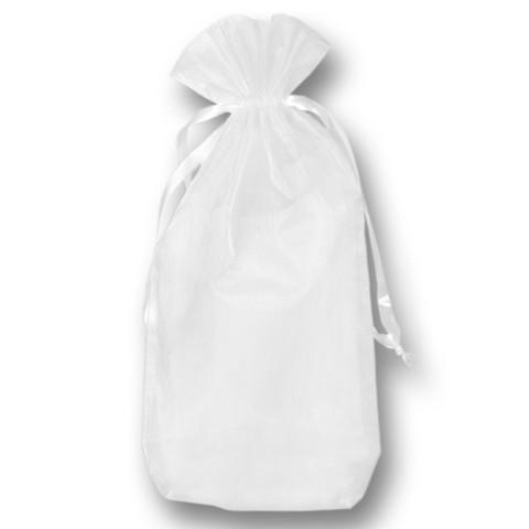 'Organza-Beutel weiß, 14 x 25 cm (10 Stück)'