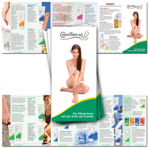 'Flyer 12-pages Camillen other language 10 x 21 cm'