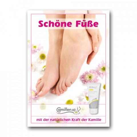 """'Poster """"Schöne Füße""""'"""