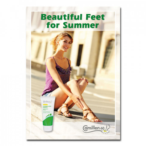 'Poster SUMMER English 42 x 60 cm'