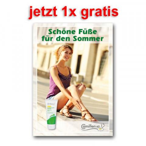 """'Poster """"Schöne Füße für den Sommer""""'"""
