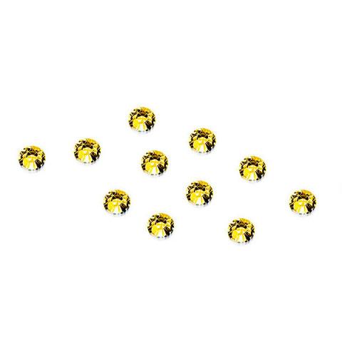 'Strass-Steinchen Gold, 100 Stück'