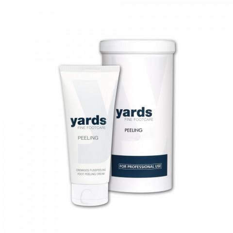 'yards PEELING'