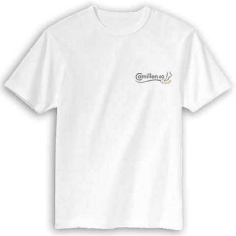 'Camillen60 - T-Shirt mit gesticktem Logo'