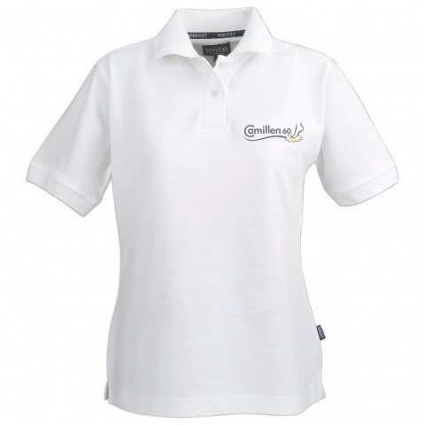 'Camillen60 - Polo-Shirt mit gesticktem Logo'