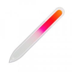 Glasfeile gelb/pink, 135 mm