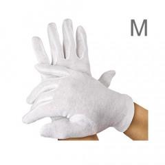 Baumwoll-Handschuhpaar mittlere Größe