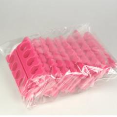 Zehenspreizer Herzen, pink (10 Paar)