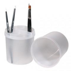 Boxx, transparent für Feilen und Pinsel