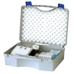 Koffer Grau aus Kunststoff