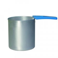 Wachstopf 800 ml mit Griff für Scheiben + Perlen