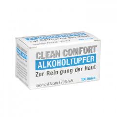 Alkoholtupfer, 100 Stück