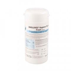 UNIGLOVES Hygiene-Tücher, 120 Tücher-Dose