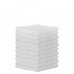 Frottee-Gästetuch 30x30 cm, weiß (10 Stück)