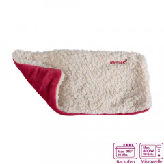 Warmies Hot-Pak® Sherpa beige/fuchsia