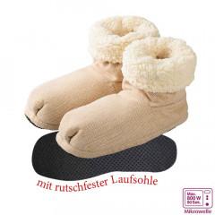 Warmies Slippies® Boots Comfort beige