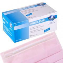 Mundschutz Profil Plus rosa, 50 Stück