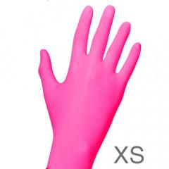 Nitril PINK 100 Handschuhe, Gr. XS (5-6)