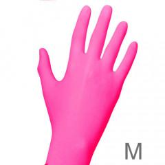 Nitril PINK 100 Handschuhe, Gr. M (7-8)