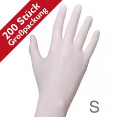 RAUE Nitril Soft 200 weiß, Gr. S (6-7)
