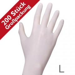 RAUE Nitril Soft 200 weiß, Gr. L (8-9)