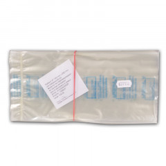 Klarsichtbeutel für Heißluft 12 x 25 cm, 100 Stück